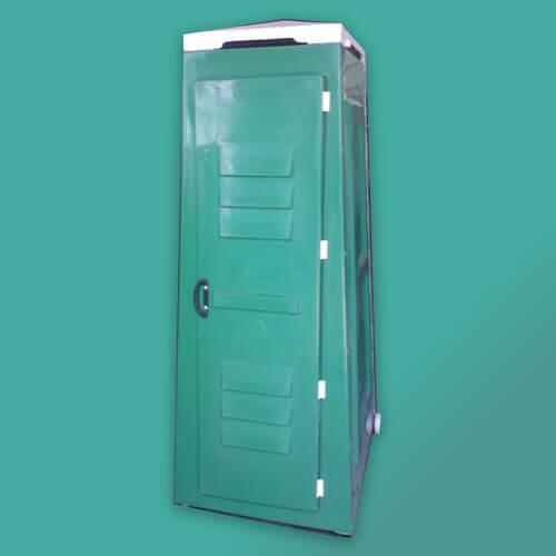 green toilets front door